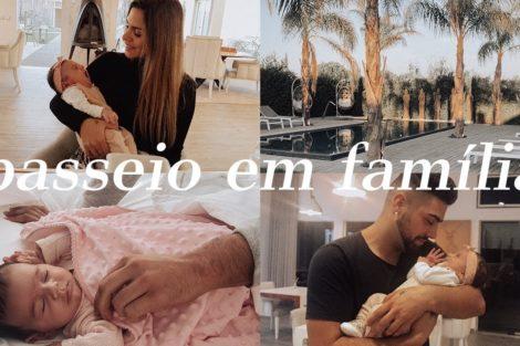 Liliana Filipa Passeio Familia Liliana Filipa Mostra Em Vídeo O Primeiro Passeio Em Família