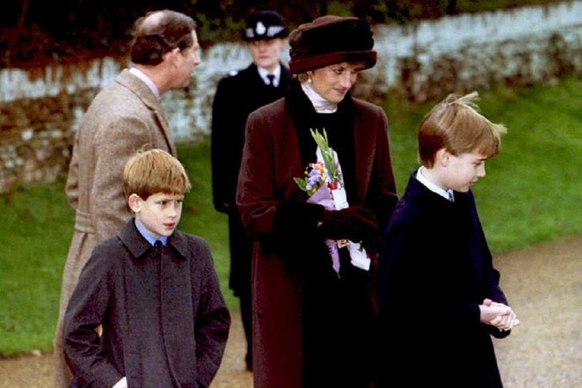 1 1 Princesa Diana Quebrou O Protocolo Real Por Causa Do Filho William