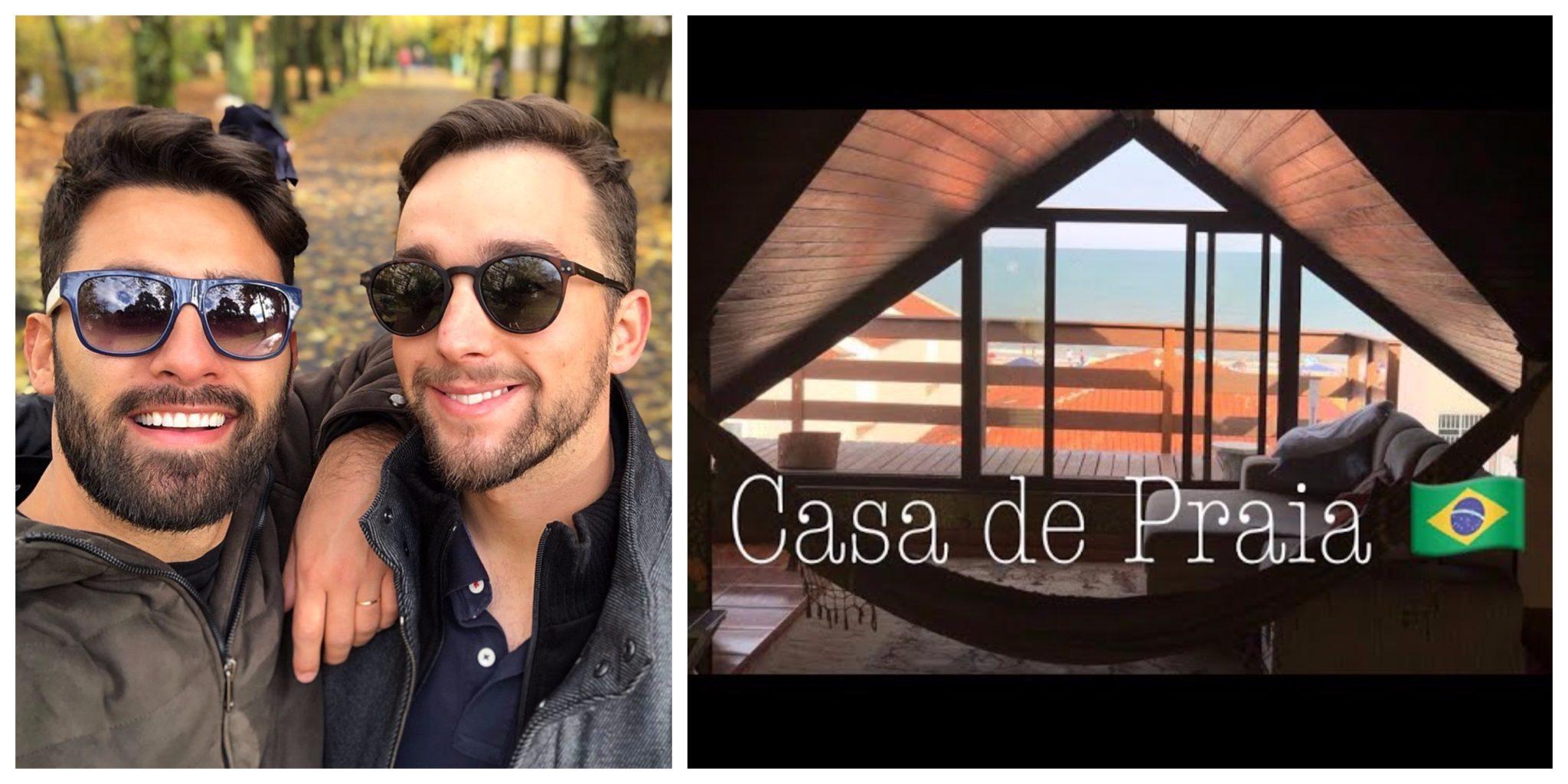 Tiago Luan casa de praia brasil