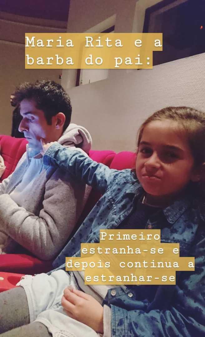 Antonio Raminhos Filha Maria Rita Veja A Reação Da Filha De António Raminhos Ao Seu Novo Visual