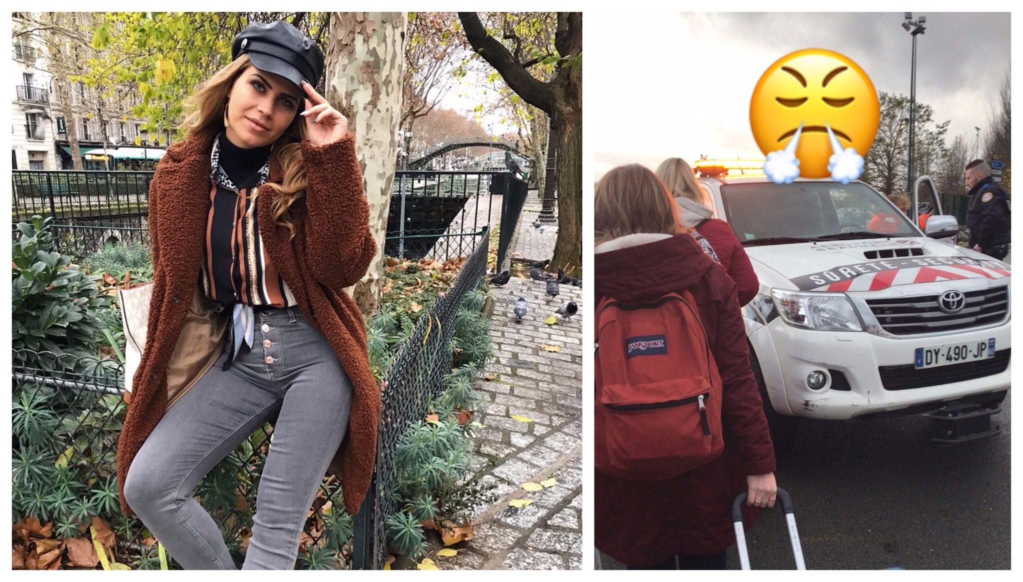 carina ferreira panico franca Casa dos Segredos: Carina Ferreira vive momentos de pânico em Paris