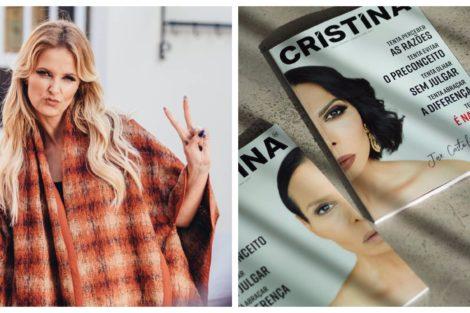 Cristina Ferreira Jose Castelo Branco Capa Da Revista 'Cristina' Revelada. O Protagonista É Inesperado
