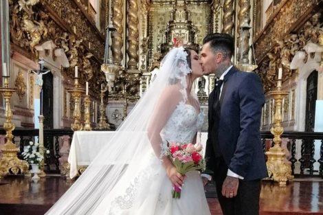 Cynthia Nuno Casaram Cynthia E Nuno Casaram-Se! Veja As Primeiras Imagens