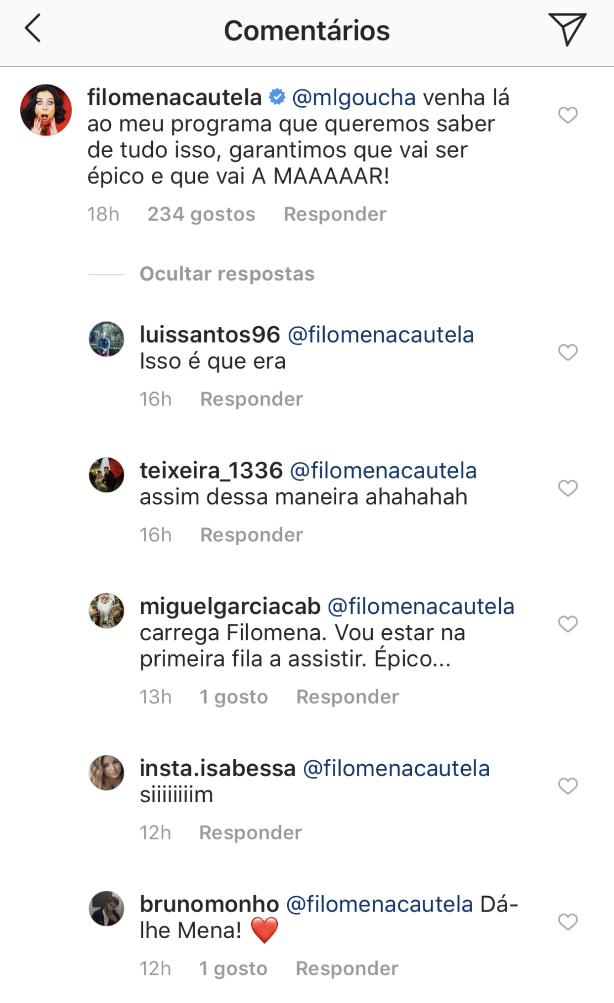 filomena cautela convida manuel luis goucha Filomena Cautela faz proposta a Manuel Luís Goucha