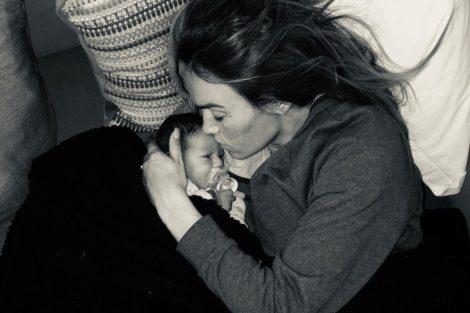 Liliana Aguiar Santiago Francisco 2 Liliana Aguiar Partilha Nova Foto Ternurenta Do Filho Recém-Nascido