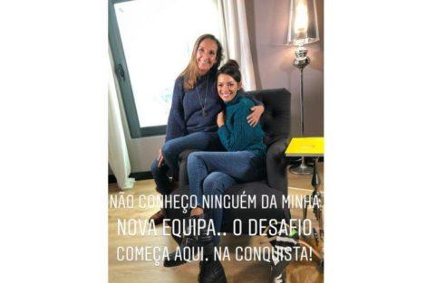 Maria Cerqueira Gomes Grava Tvi 4 Maria Cerqueira Gomes Já Grava Na Tvi. Veja As Primeiras Imagens