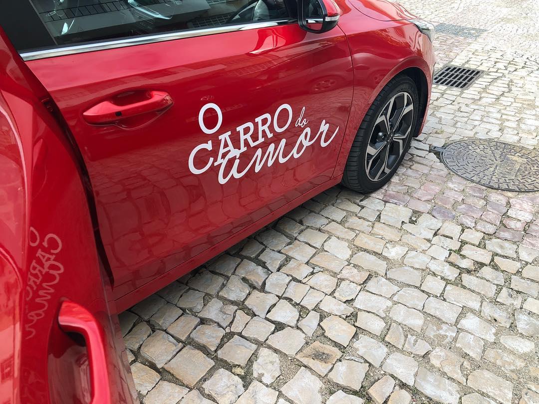 O Carro Do Amor Depois De &Quot;Casados&Quot;, Francisco Revela Primeira Foto De &Quot;O Carro Do Amor&Quot;