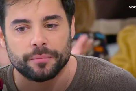 Captura De Ecrã 2019 01 22 Às 13.47.36 Você Na Tv: Pedro Carvalho Chora Em Direto Após Mudar Vida De Um Sem-Abrigo