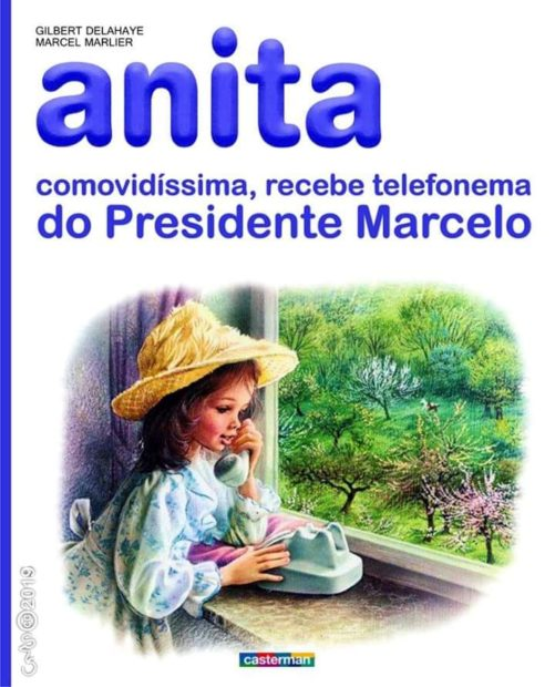 Capa Anita Mais Um! Joaquim Monchique Brinca Com Chamada A Cristina