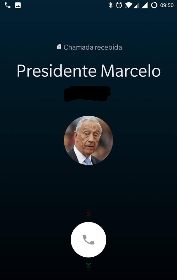 Chamada Do Marcelo O Marcelo Já Liga Aos Portugueses. Saiba Como