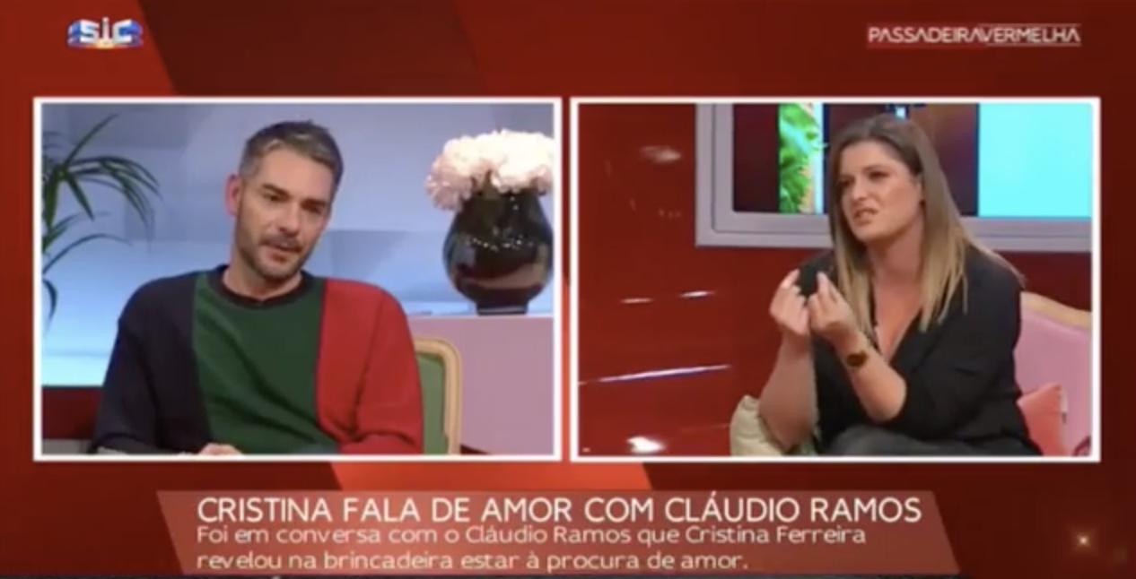 Claudio Ramos Maria Botelho Moniz Maria Botelho Moniz Emociona Cláudio Ramos Em Direto