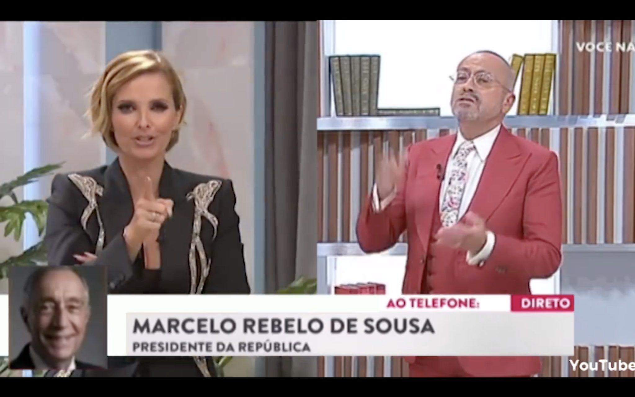 Cristina Ferreira Manuel Luis Goucha Paródia: Vídeo Brinca Com 'Guerra' Entre Cristina Ferreira E Manuel Luís Goucha