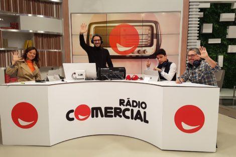 Rádio Comercial Você Na Tv1 Testemunho De Fã Emociona Equipa Das Manhãs Da Comercial