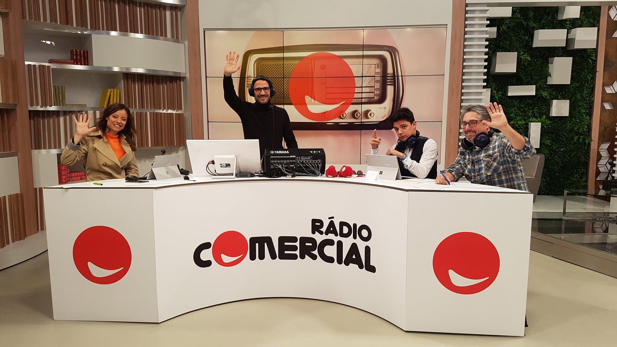 rádio comercial você na tv1 Rádio Comercial joga na Final Four