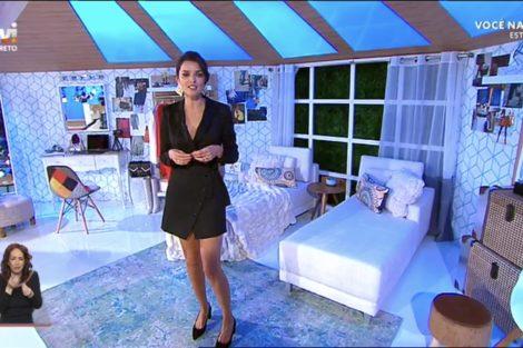 Voce Na Tv Novo Cenario 14 Maria Cerqueira Gomes Escolhe Miguel Vieira Para A Estreia