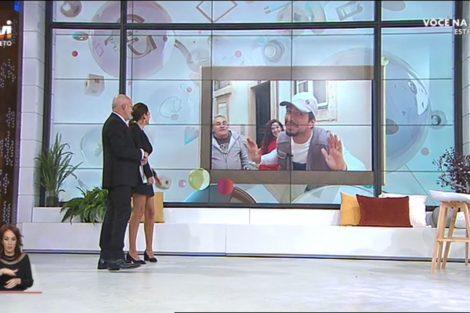 Voce Na Tv Novo Cenario 15 Novo Cenário, Maria Cerqueira Gomes E Manuel Luís Goucha Valem Elogios Em Dia De Estreia