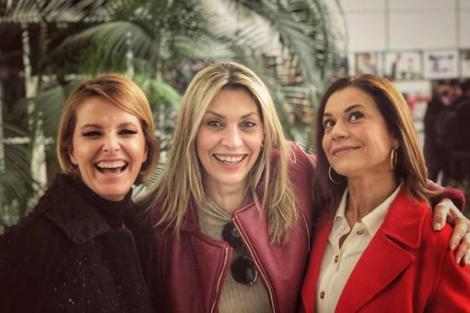 Fb Tina Cristina Ferreira, Conceição Lino E Clara De Sousa Preparam Surpresa?