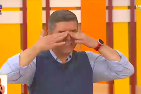 Baião João Baião Em Lágrimas Na Estreia Do Novo Programa
