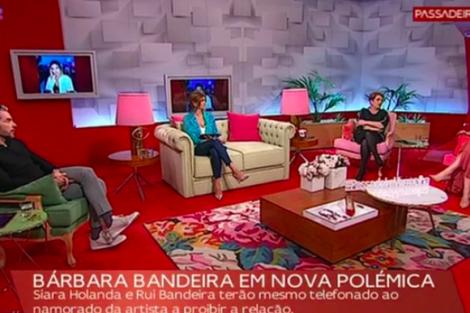 Barbarabandeira Passadeiravermelha Namoro De Bárbara Bandeira Foi Comentado No 'Passadeira Vermelha'