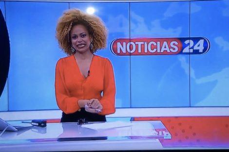 Conceicao Queiroz Tvi24 Insólito: Conceição Queiroz Brinca Sem Saber Que Está Em Direto