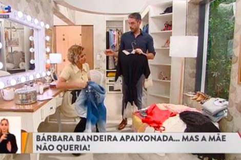 Cristina Claudio Barbara Cristina Ferreira E Cláudio Ramos Não Concordam Com Mãe De Bárbara Bandeira