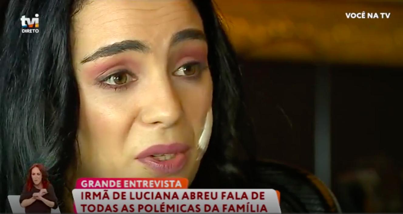 Luisaabreu Irmã De Luciana Abreu Farta De Polémicas: &Quot;Chega De Fazer Sofrer A Nossa Mãe&Quot;