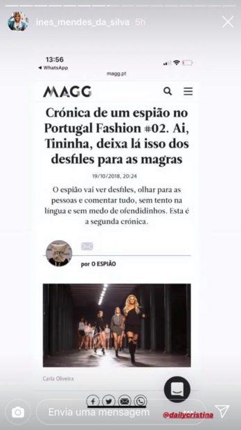 3 1 Agente De Cristina Ferreira Reage Às Críticas Feitas À Apresentadora