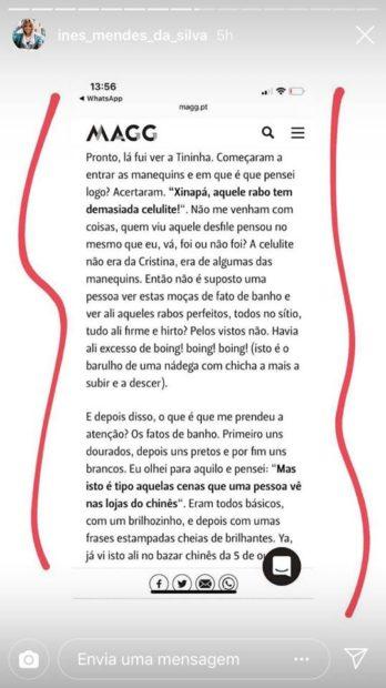 4 2 Agente De Cristina Ferreira Reage Às Críticas Feitas À Apresentadora