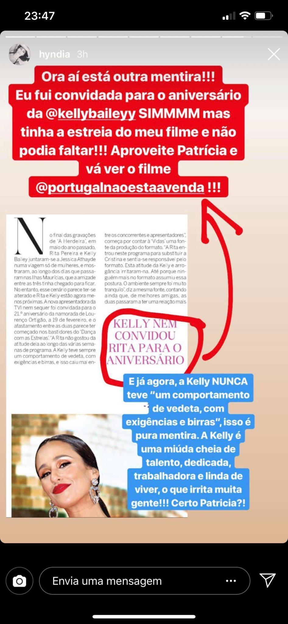 53474645 2547189765292478 6368186157678723072 N Rita Pereira Reage Com Ironia A Possível Zanga Com Kelly: &Quot;Ridículo&Quot;