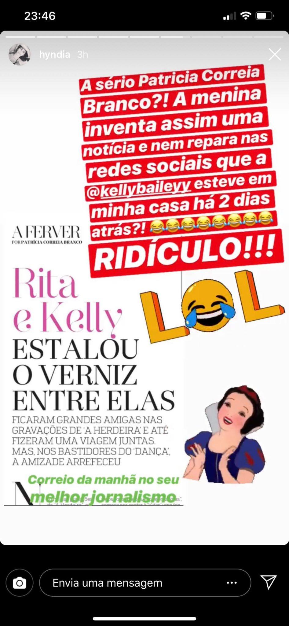 53646208 2676087275798511 3020810985024782336 N Rita Pereira Reage Com Ironia A Possível Zanga Com Kelly: &Quot;Ridículo&Quot;