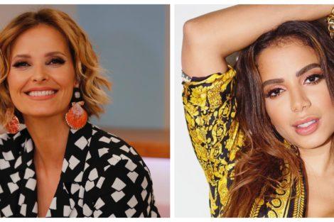 Anitta E Cristina Ferreira Cristina Ferreira Lança Movimento Para Trazer Anitta Ao Seu Programa