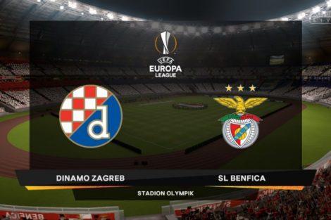 Dinamo Zagreb 1024X576 Benfica: Jogo Da Liga Europa Ultrapassa Os 2 Milhões De Telespectadores