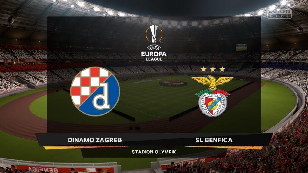 Dinamo Zagreb Liga Europa: Dinamo Zagreb Vs Benfica Em Direto