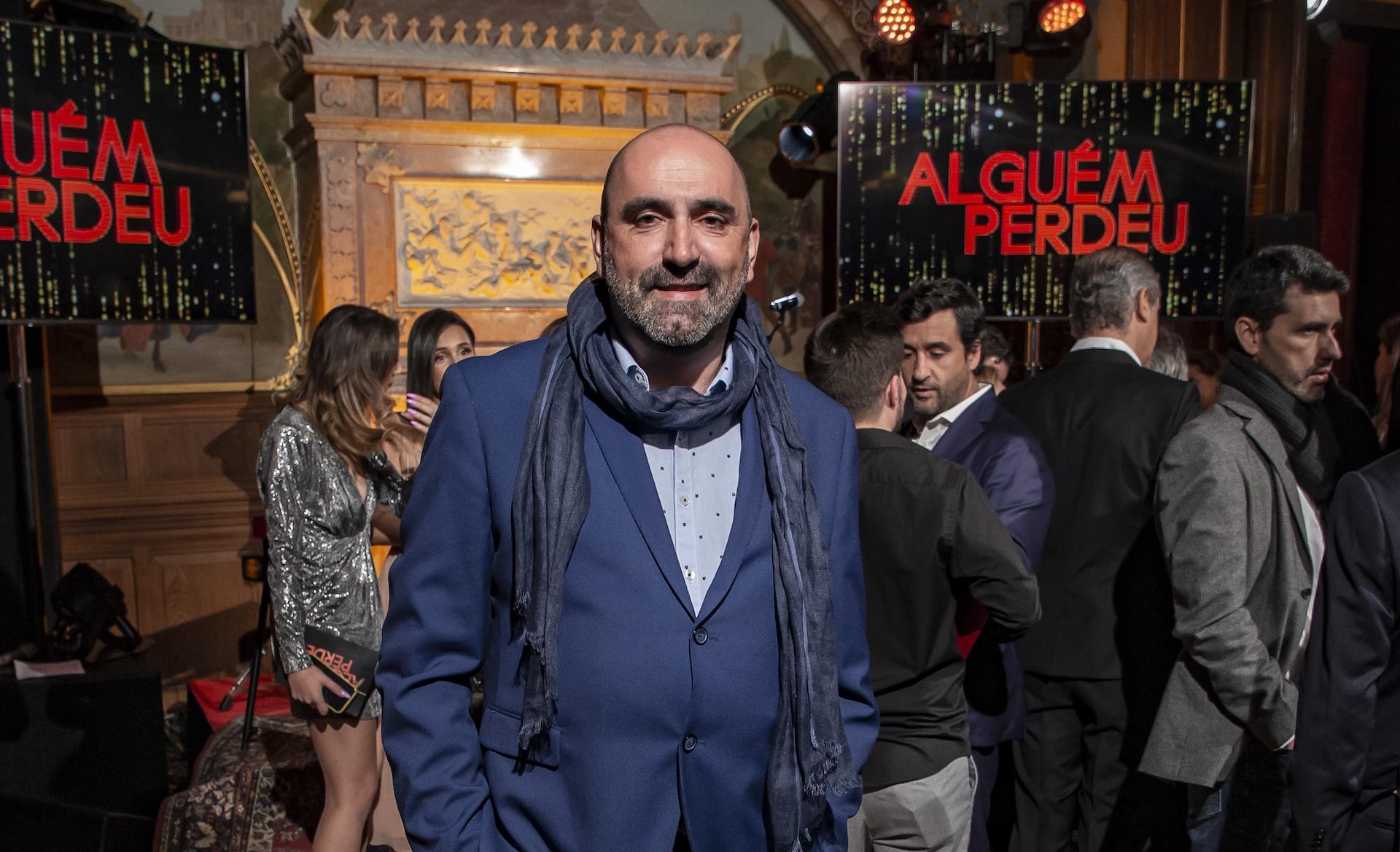 Antonio Barreira Sergio Lemos António Barreira: &Quot;Fui Pioneiro Nos Emmys Em Portugal&Quot;