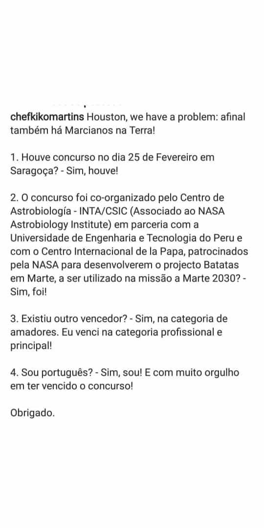 Cristina Ferreira Chef Kiko Cristina Ferreira 'Apoia' Kiko Martins Na Polémica Com O Concurso Da Nasa