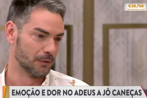 Jô Caneças Cláudio Ramos Em Lágrimas Após Morte De Jô Caneças: &Quot;Perdemos Uma Grande Pessoa&Quot;