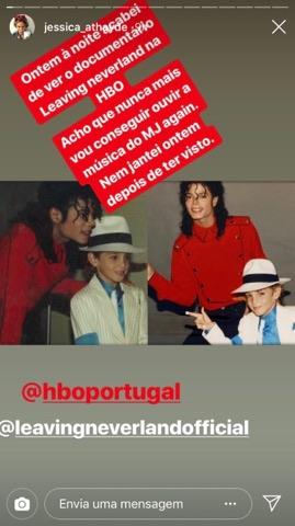 Jessica Athayde 1 Leaving Neverland: O Documentário Polémico Sobre As Vítimas De Michael Jackson