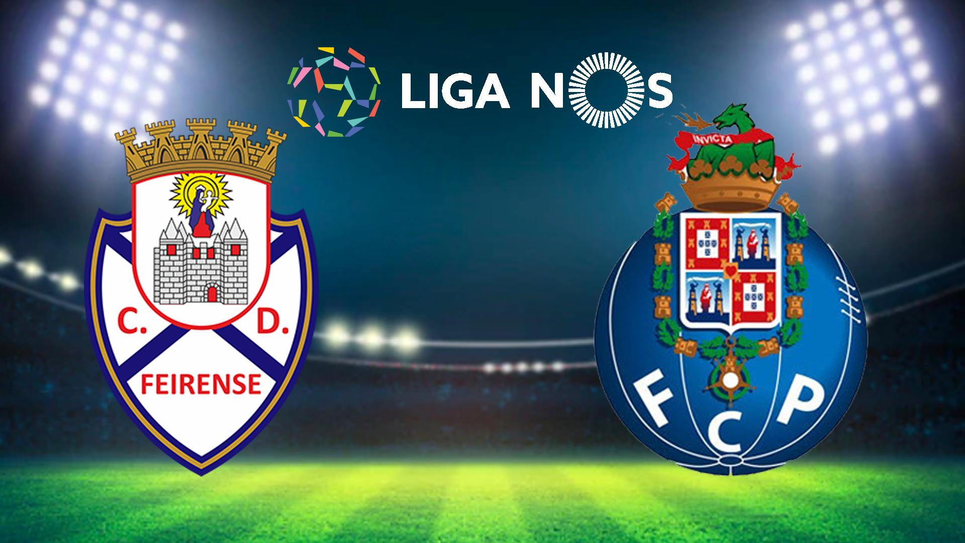 Liganos Direto: Feirense Vs Fc Porto Na Sport Tv1