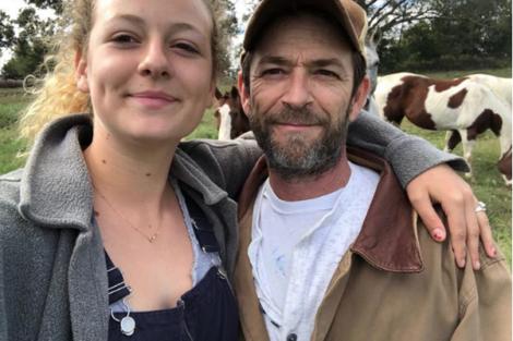 Luke Perry Filha De Luke Perry Reage À Morte Do Pai Com Mensagem Emotiva
