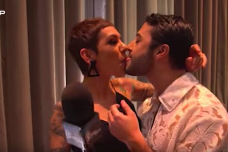 """ruipego Rui Maria Pêgo beija Beatriz Gosta na boca: """"Foi um bocado nojento"""""""