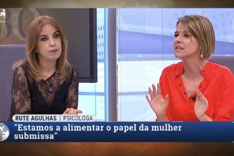 rute agulhas leonor poeiras Ânimos exaltados! Leonor Poeiras envolve-se em discussão acesa com psicóloga