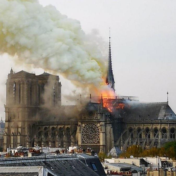 54512289 2203682833278662 5295978910866751433 N Paris: Catedral Em Chamas. A Reação Dos Famosos À Tragédia De Notre-Dame