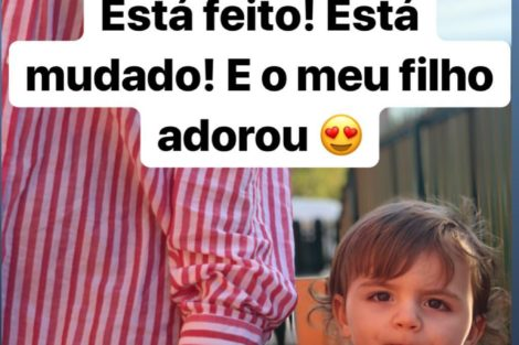 """54731758 431886627619722 137270917435600308 N Fanny Rodrigues Aposta Em Novo Visual: &Quot;O Meu Filho Adorou!"""""""