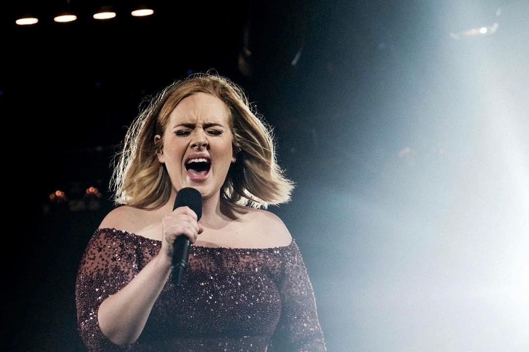 Adele Adele Está Muito Mais Magra. Fotografia Da Cantora Torna-Se Viral