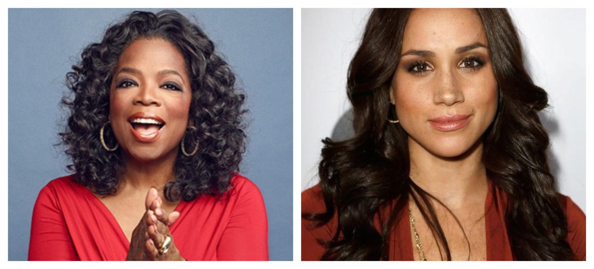 Fotojet 2 Oprah Winfrey Do Lado De Meghan Markle: &Quot;Ela Está A Ser Retratada De Maneira Injusta&Quot;