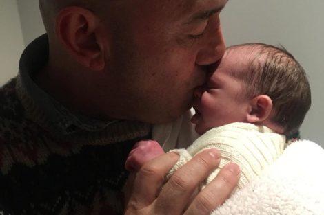 Joséraposo José Raposo Declara-Se À Filha Que Completa Um Mês De Vida
