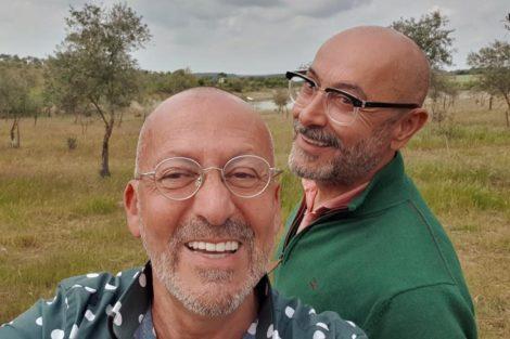 Manuel Luís Goucha e Rui Oliveira