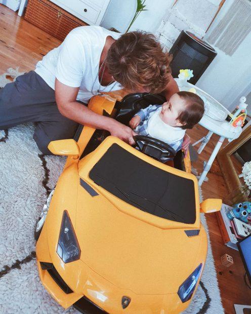 Mia Rose No Primeiro Aniversário, Filho De Mia Rose E Miguel Cristovinho Recebe Lamborghini