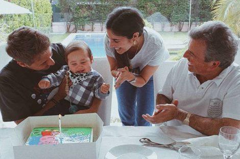Miarosemiguelcristovinho No Primeiro Aniversário, Filho De Mia Rose E Miguel Cristovinho Recebe Lamborghini