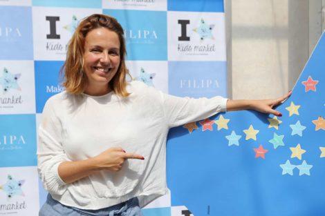 Tania Ribas De Oliveira Tânia Ribas De Oliveira Ajuda Crianças Doentes Em Mercado Solidário